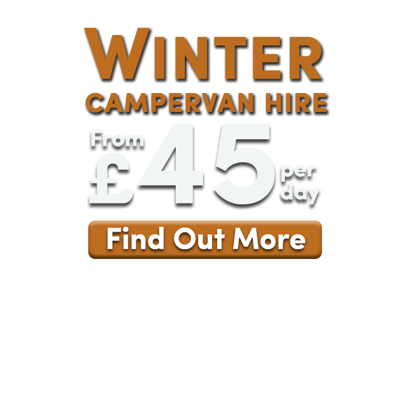 Winter campervan hire