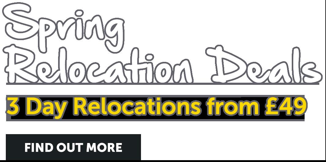 Spring Relocation Deals