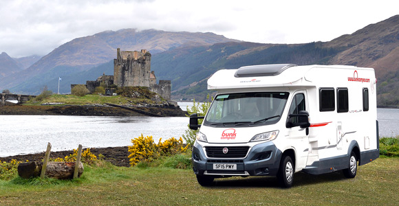 campervan hire edinburgh