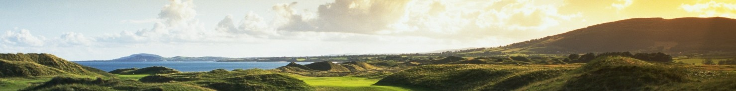 Ireland golf courses - Bunk Campers campervan hire