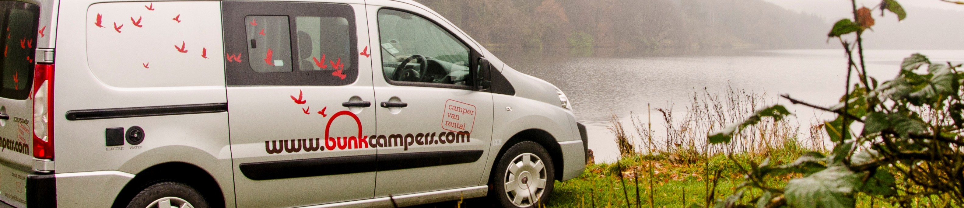 2 person campervan hire