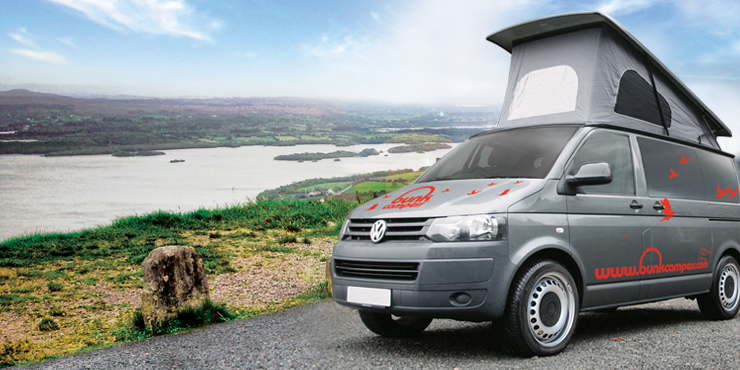 Hire a VW Campervan in Dublin
