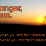 Stay longer, pay less on Motorhome Hire in Scotland & Ireland