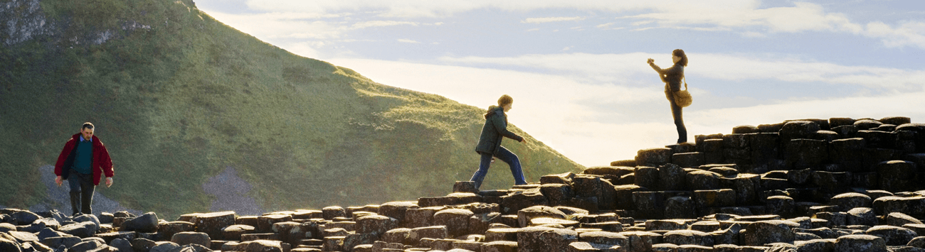 Visit the Giants Causeway, Northern Ireland with Bunk Campers.