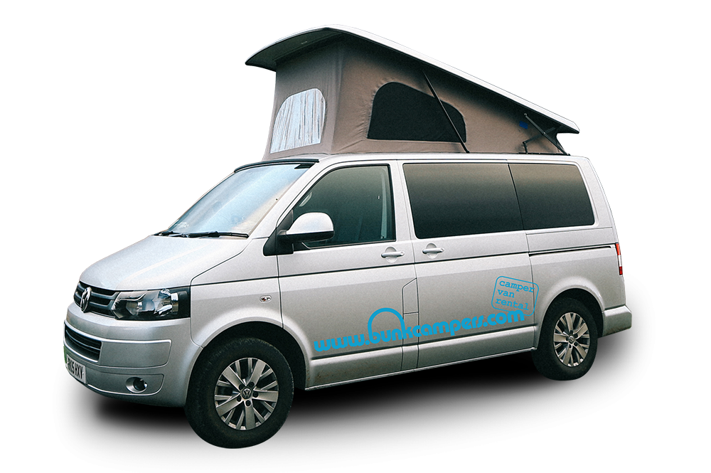 Nomad – 2 Person VW Campervan Hire