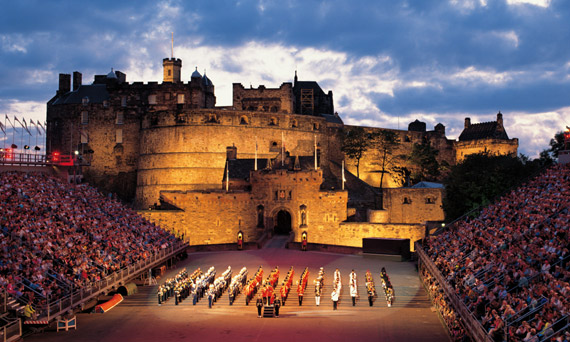 Edinburgh tattoo festival 2013 campervan hire scotland for Tattoo edinburgh scotland