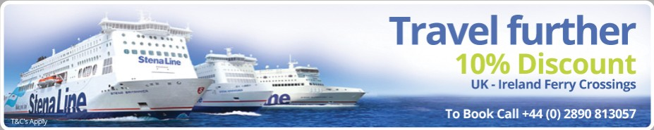 10% Discount on Stena Line travel in your campervan
