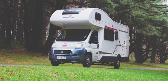 Hire a 6 person motorhome in England