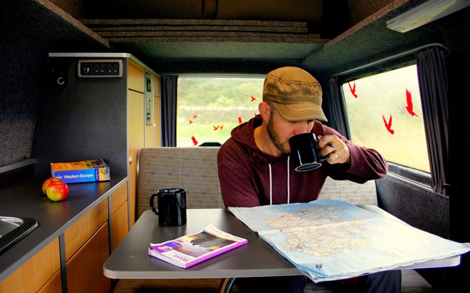 cheap VW campervan hire UK & Ireland