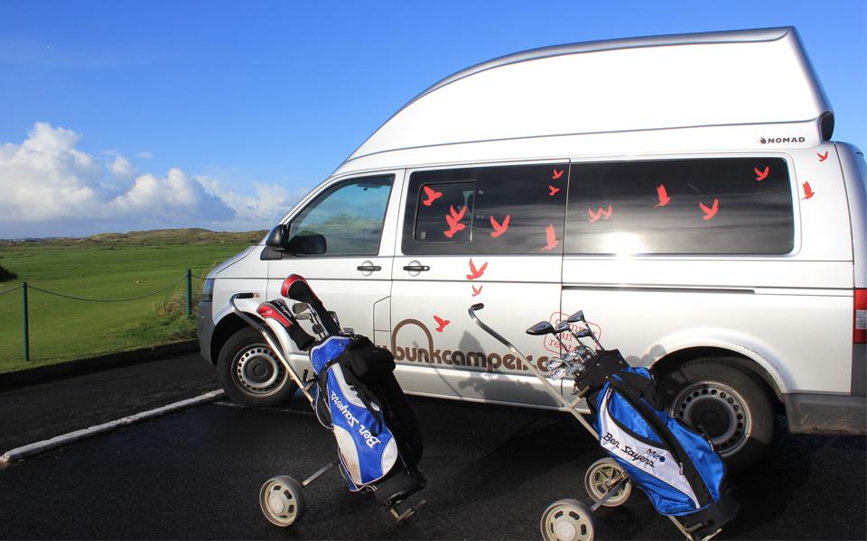 VW campervan hire ireland & uk
