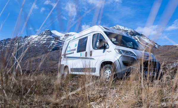 Winter campsites scotland
