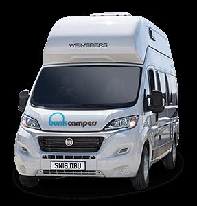 4 person campervan hire – Vista