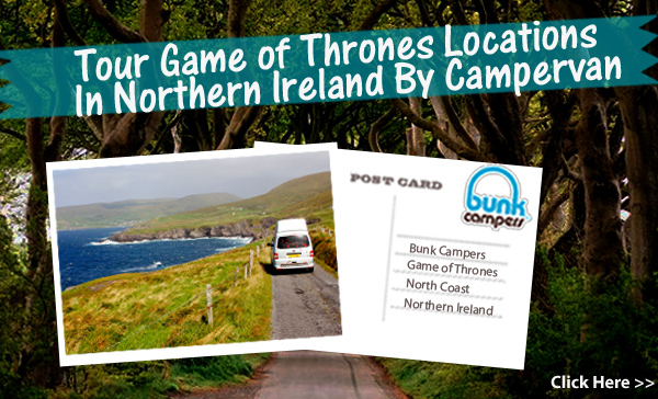 Game of Thrones Locations in Northern Ireland by Campervan