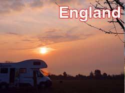 England Campsites