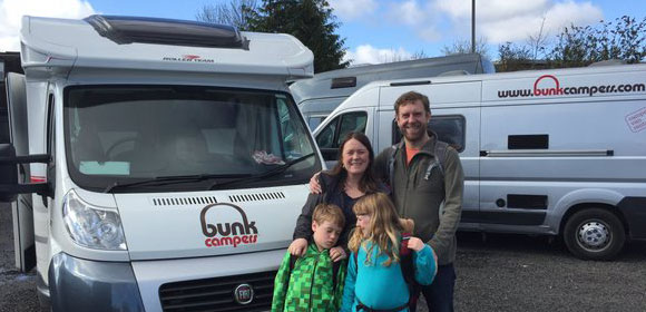Family Campervan hire