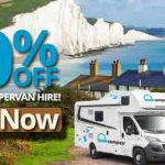20% off England campervan hire