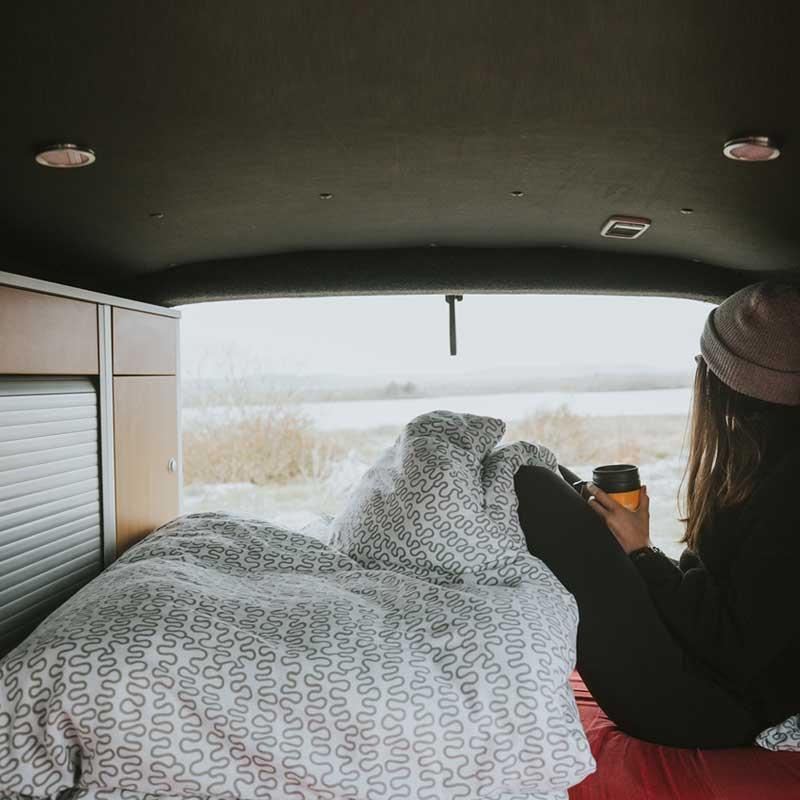 Winter campervan hire