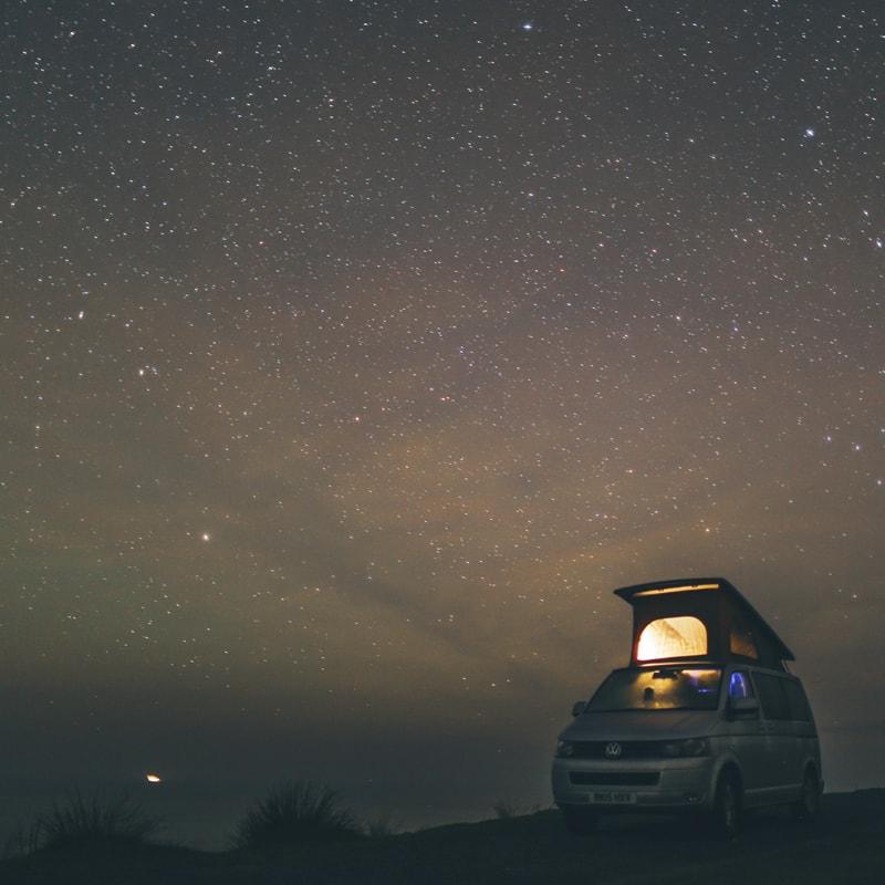 Northern Lights By Campervan