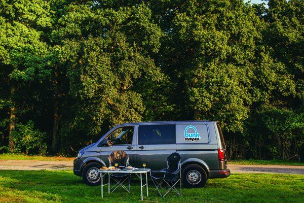 Roadie budget camping car