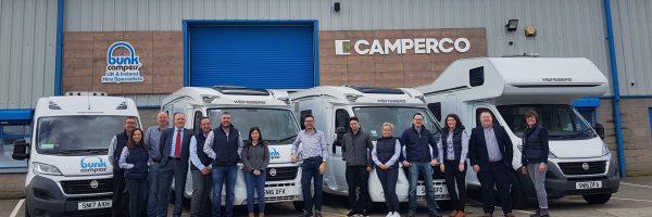 Camperco & Bunk Campers team