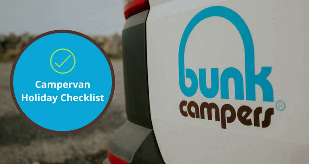 Campervan Holiday Checklist Hero Image