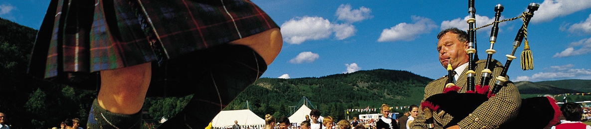 Highland Games - Campervan Hire Glasgow