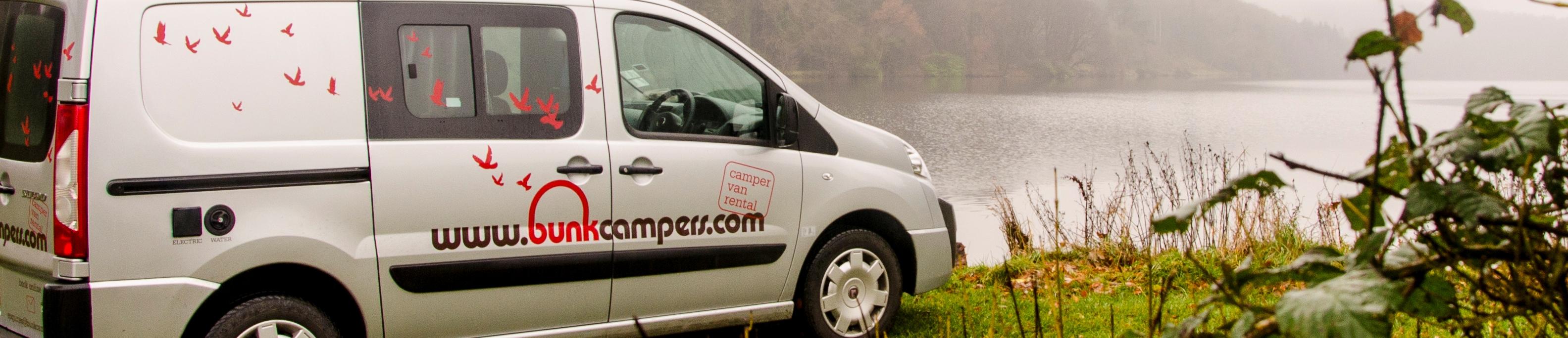 2 person campervan hire