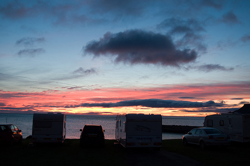 View the Northern Lights by motorhome - Bunk Campers