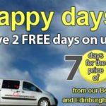 Campervan hire discount - Bunk Campers - 7 for 5