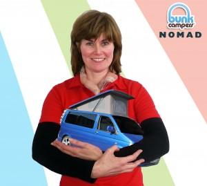 2 person VW Campervan Hire - Nomad - Bunk Campers