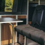 Bunk Campers | Nomad dining table & rear seats