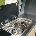 Bunk Campers | Nomad gas hob for cooking