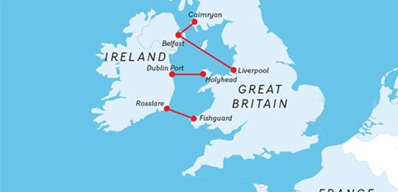 Stena Line routes