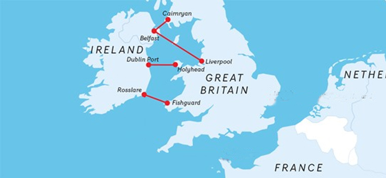 Stena line journeys