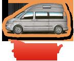 VW Campervan Hire - Bunk Campers