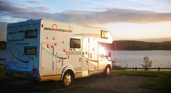 Motorhome hire Scotand & Ireland
