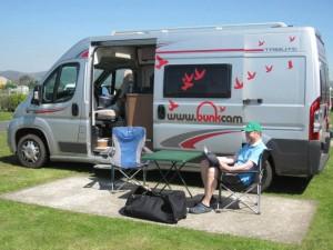 Cameprvan & Motorhome Hire Ireland