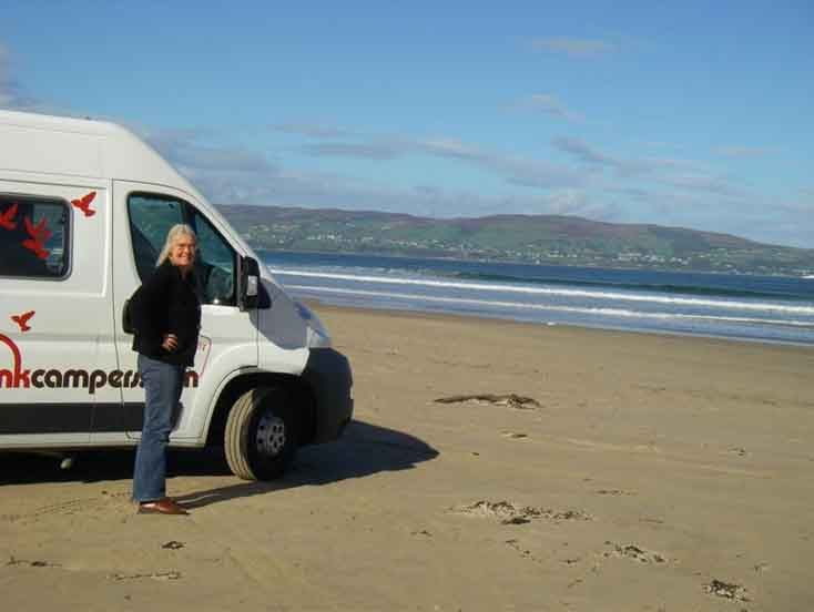 Campervan & Motorhome Hire Ireland