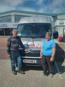 Gail & Arthur - Campervan Hire Ireland