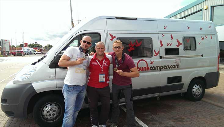Dutch Customers choose Campervan Hire Northern Ireland for the WPFG