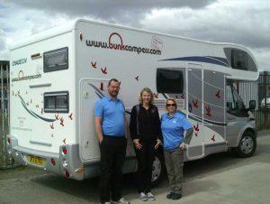 Katrin Kontiki Saga visits Scotland Campervans for Hire