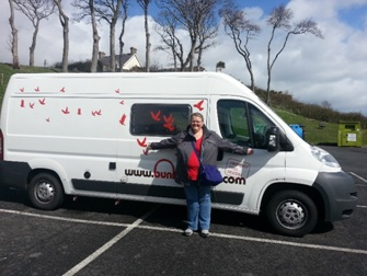 Campervan Hire Ireland - Roadtrip of your life competition winner