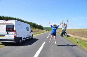 Enjoy half term motorhome hire in Scotland & Ireland