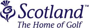Scotland Home of Golf logo