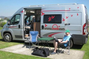 2 person motorhome hire London