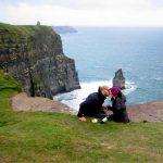 Romance in an ireland campervan trip