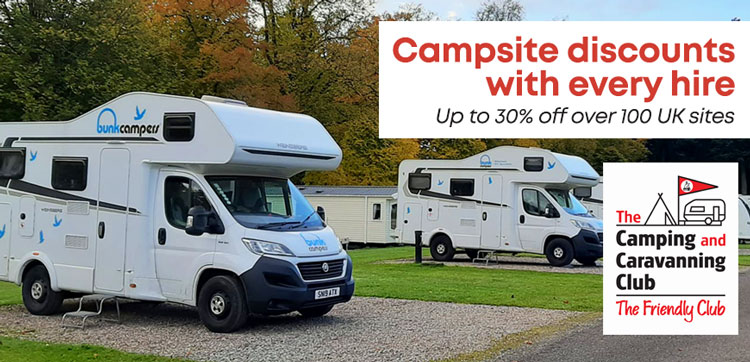 Camping & Caravanning Club Privilege Scheme Discount