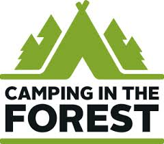 Logo Camping in the Forest