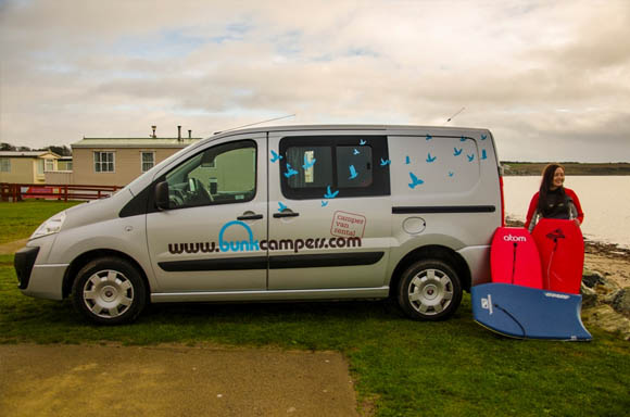 Surfing holidays | Campervan Hire in the UK