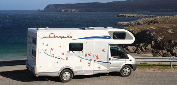 deals campervan hire ireland, campervan hire scotland, campervan hire uk
